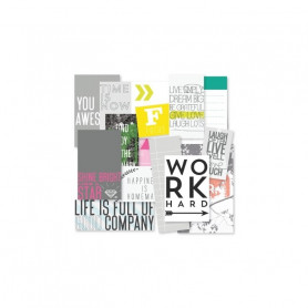 Labels Kiss my néon Anglais 14 pc – Kesi'art