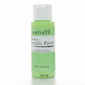 Peinture acrylique Soft Green 59 ml– Docrafts Artiste