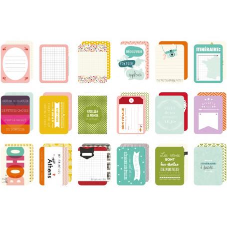 Set de 36 cartes Like a boho - Kesi'Art