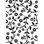 Classeur de gaufrage A6 Vignes florales – Darice – Embossing folder Floral Vines