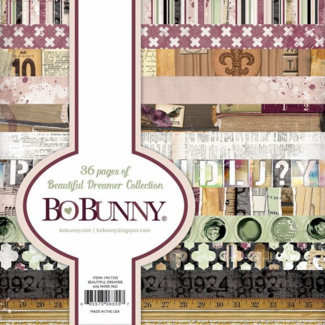 Set de papier 15x15 Beautiful Dreamer 36f – Bo Bunny