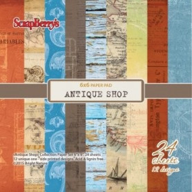 Set de papier 15x15 Antique Shop 24f – ScrapBerry's