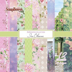 Set de papier 15x15 In Bloom 12f – ScrapBerry's