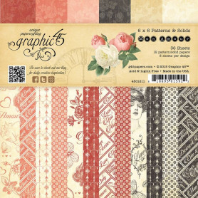 Set de papier 15x15 Mon amour 36f – Graphic 45