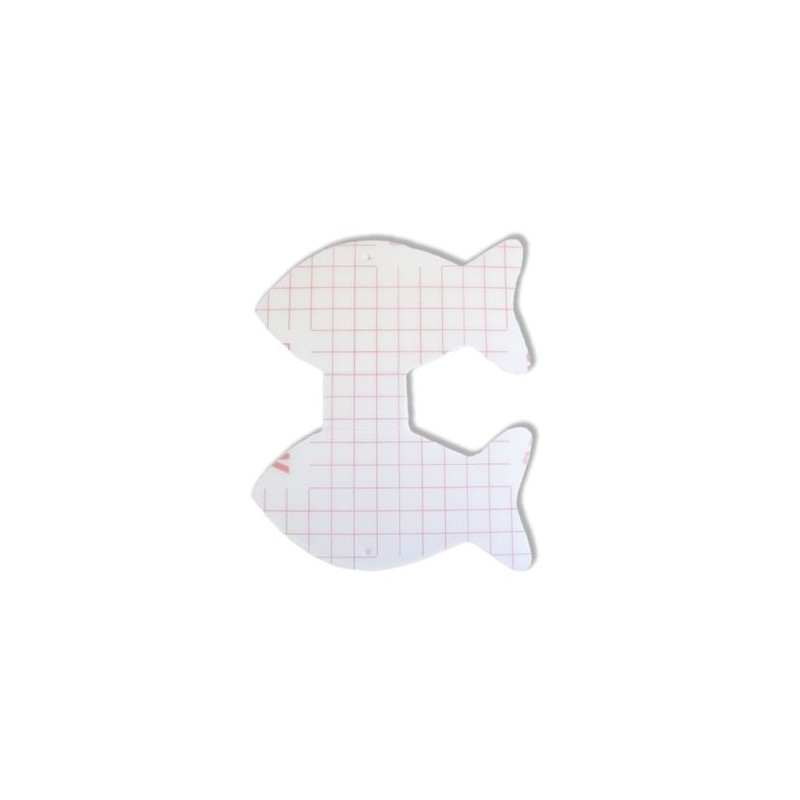 Porte-serviette Poisson Ichthus double Creapop à décorer – Décoration de table