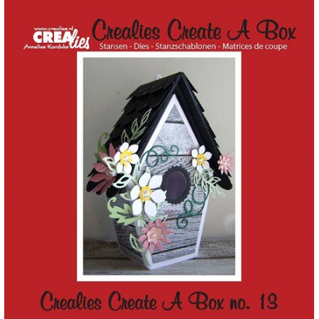 Dies Create A Box no 13 Birdhouse - Crealies