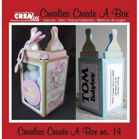 Dies Create A Box no 14 Baby Bottle - Crealies