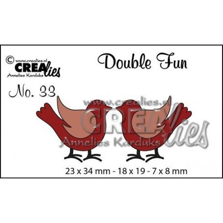 Dies Double Fun no. 33 Birds - Crealies