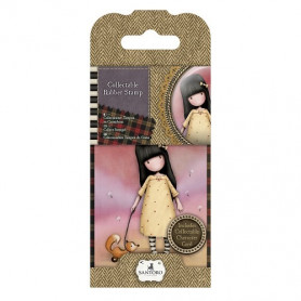 Collectable Rubber Stamp - Santoro - No. 3 The Pretend Friend - Gorjuss
