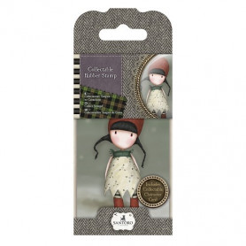 Collectable Rubber Stamp - Santoro - No. 19 Holly - Gorjuss