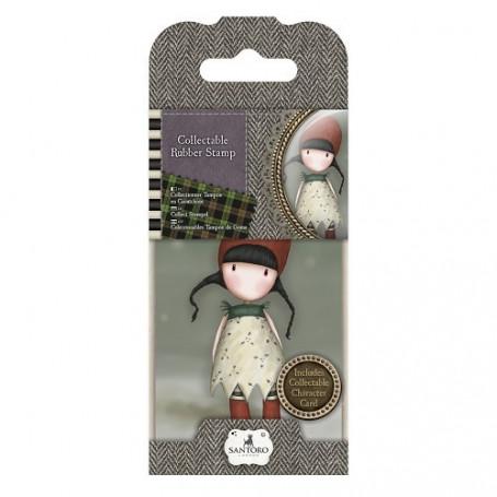 Collectable Rubber Stamp - Santoro - No. 19 Holly - Gorjuss