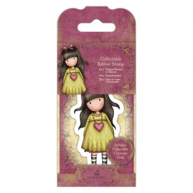 Collectable Rubber Stamp - Santoro - No. 24 Heartfelt - Gorjuss