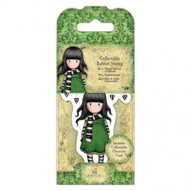 Collectable Rubber Stamp - Santoro - No. 26 The Scarf - Gorjuss