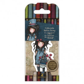 Collectable Rubber Stamp - Santoro - No. 29 The Hatter - Gorjuss