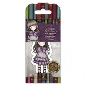 Collectable Rubber Stamp - Santoro - No. 32 Little Violet - Gorjuss