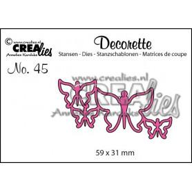 Die Decorette 45 Butterflies 7 - Crealies