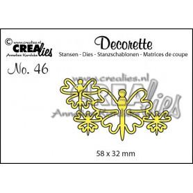 Die Decorette 46 Butterflies 8 - Crealies