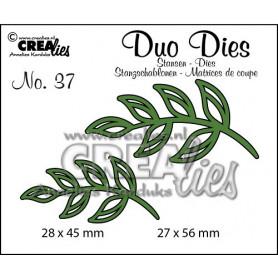 Duo Dies no. 37 Leaves 5 - Crealies