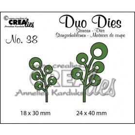 Duo Dies no. 38 Leaves 6 - Crealies