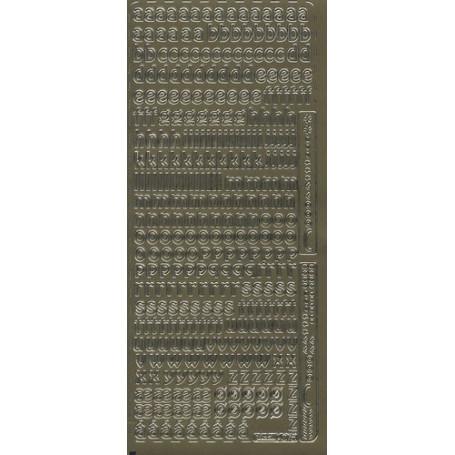 Autocollant Alphabet minuscule – Pickup 075