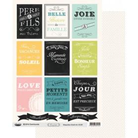 Etiquettes Confettis Chalk Art A4 à découper – Swirlcards
