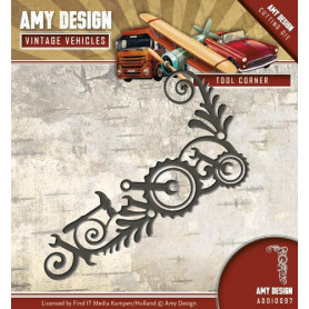 Die Tool Corner - Vintage Vehicles - Amy Design