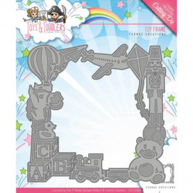 Die Toy Frame - Tots and Toddlers - Yvonne Creations