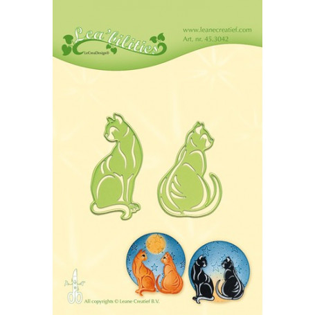 Dies Cats - Lea'bilities- Leane Creatief