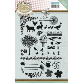 Tampons Spring-tastic - Yvonne Creations Clearstamp