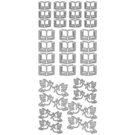 Autocollant Bible/Colombes – JEJE Produkt 1662
