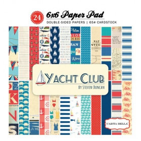 Set de papier 15x15 Yacht Club 24f – Carta Bella