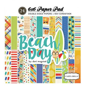 Set de papier 15x15 Beach Day 24f – Carta Bella