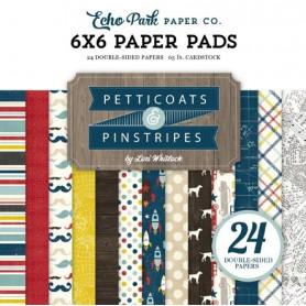 Set de papier 15x15 Petticoats & Pinstripes 24f – Echo Park