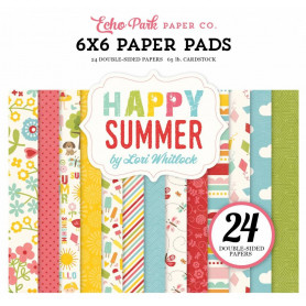 Set de papier 15x15 Happy Summer 24f – Echo Park