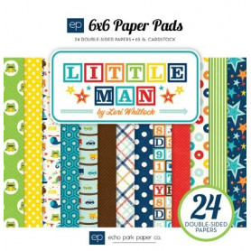 Set de papier 15x15 Little Man 24f – Echo Park