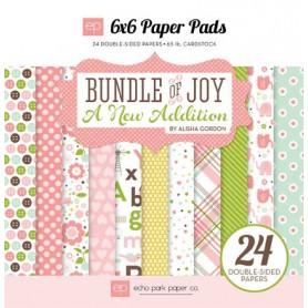 Set de papier 15x15 Bundle of joy 24f – Echo Park