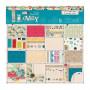 Set de papier 15x15 Sew Lovely 32f - Docrafts Papermania