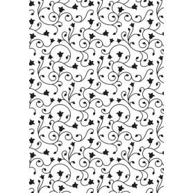 Classeur de gaufrage A6 Vintasia Swirl - Nellie's Choice Embossing folder