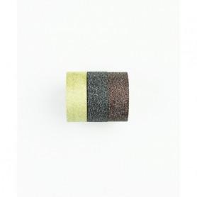 Washi Tape Bling Bling or clair pailleté 3 x 3 m - Kesi'art