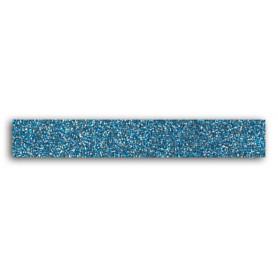 Glitter Tape bleu gris 2 m - Toga