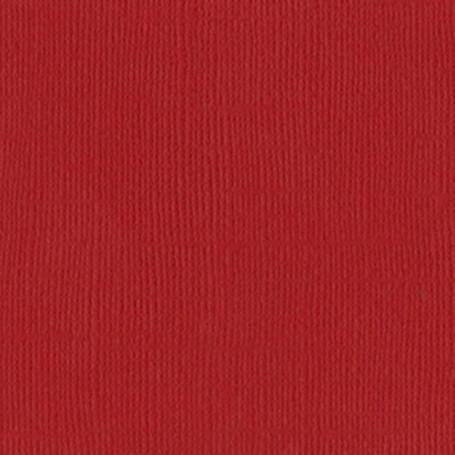 Papier 30x30 Texturé Watermelon - Pastèque – Bazzill