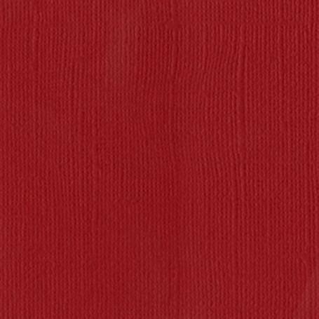 Papier 30x30 Texturé Red - Rouge – Bazzill