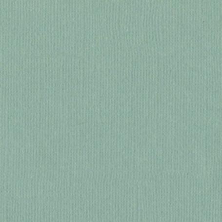 Papier 30x30 Texturé Aqua - Turquoise – Bazzill