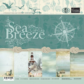 Set de papier 30x30 Sea Breeze 24f - Couture creations