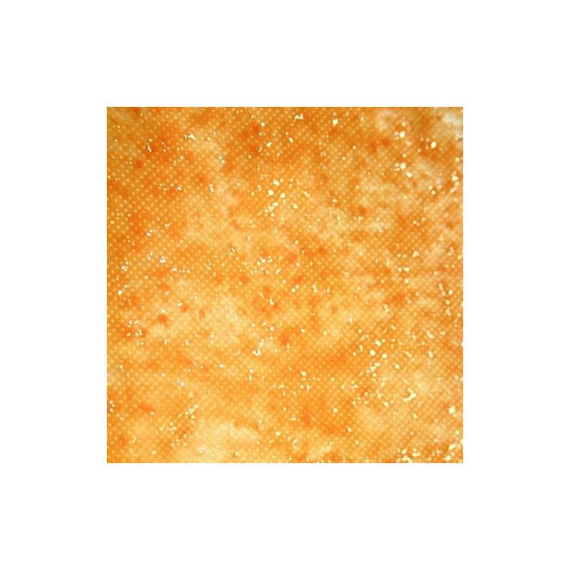 5 metres  de  RUBAN VOILE coloris ORANGE bords dorés   N° 340