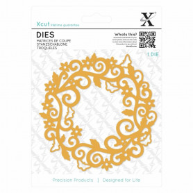 Die Filigree Circle Frame 1 pc - Xcut