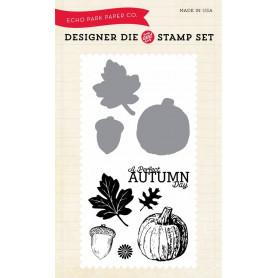 Die & stamp set Automn Day - Echo Park