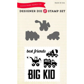Die & stamp set Big Kid - Echo Park