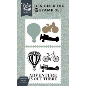 Die & stamp set Adventure is out there - Carta Bella