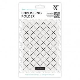 Classeur de gaufrage A6 Quilting – Xcut – Embossing folder
